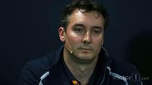 James Key, Scuderia Toro Rosso Technical Director in the FIA Press Conference