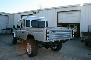 STOLEN VEHICLE ALERT: Land Rover Defender 130