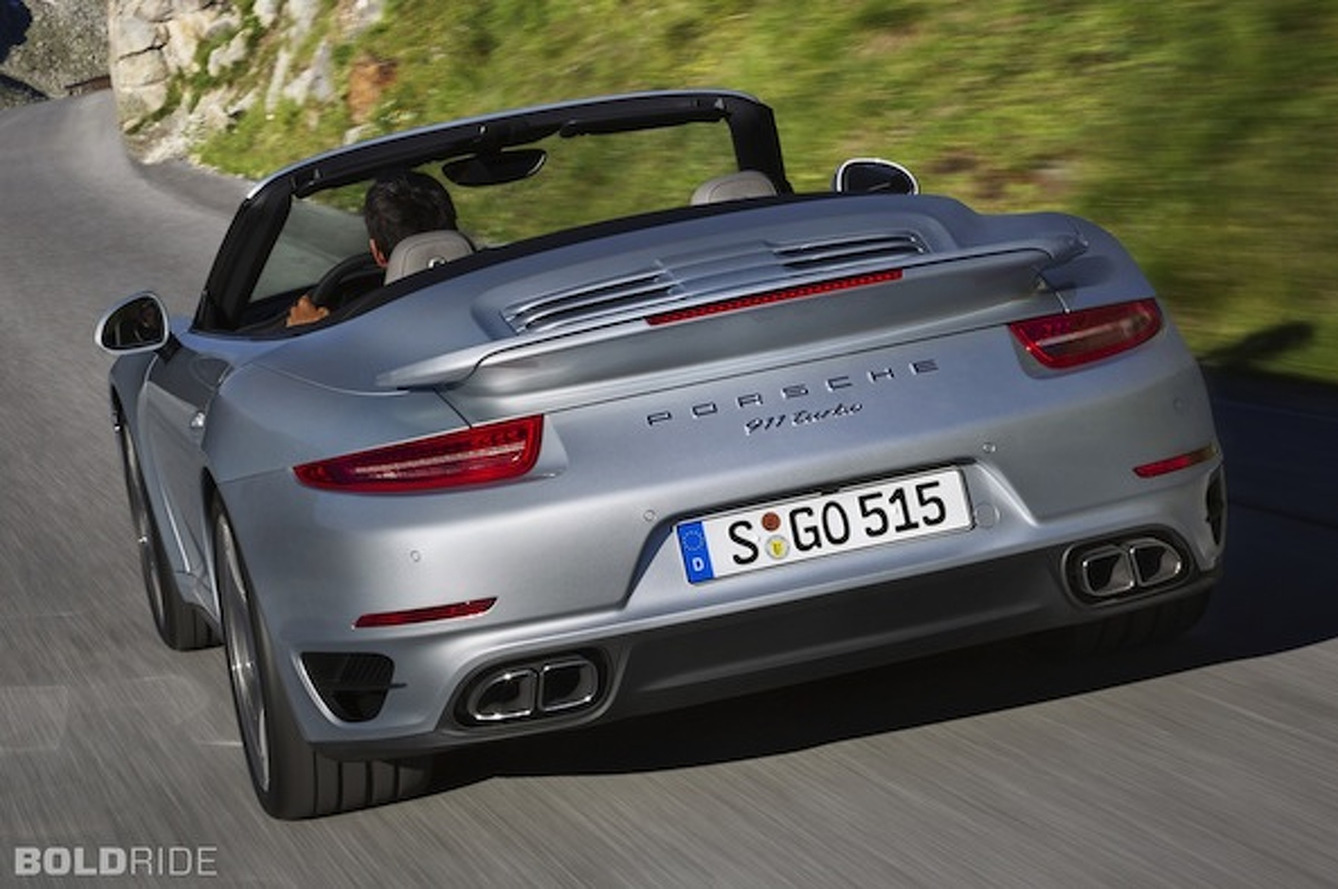 Porsche 911 Turbo Drops its Top, Starts at $160,700 [w/video]
