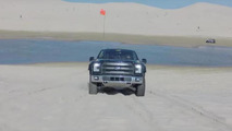 Ford F-150 Raptor prototype tackles the Silver Lake sand dunes [video]
