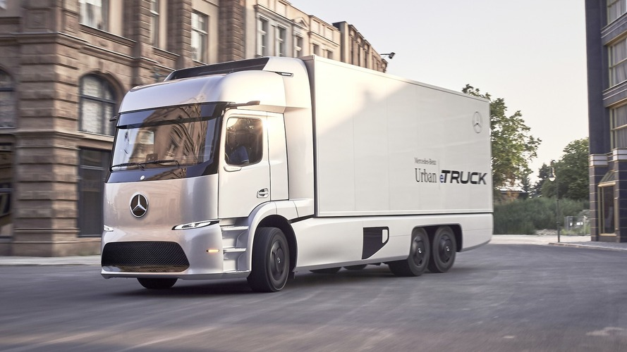 Mercedes Urban eTruck Concept has 200 km electric range