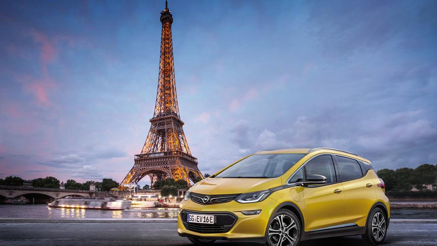 L'Opel Ampera-e sera présentée en première mondiale au Salon de Paris