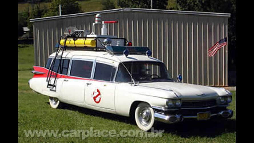 Ghostbusters!! Cadillac 1959 dos Caça- Fantasmas está sendo leiloado no eBay