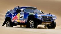 VW Race Touareg 2 Takes Shape for 2009 Dakar