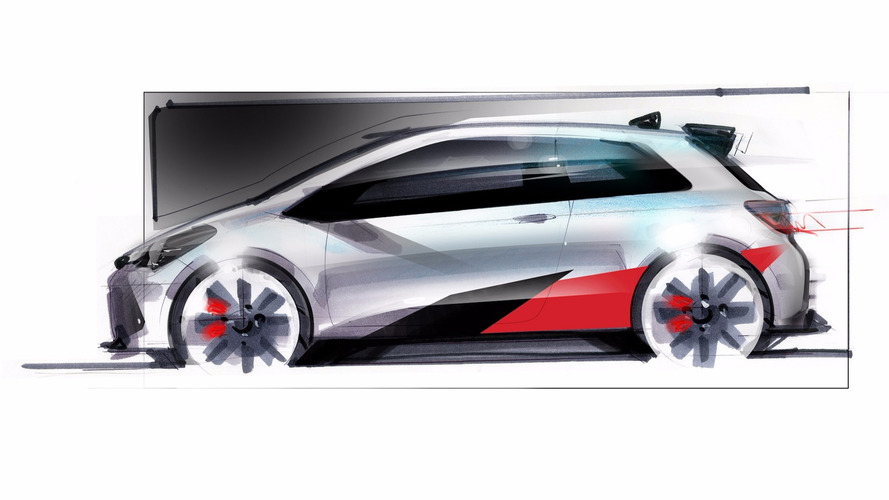Hot Toyota Yaris teased in sketch