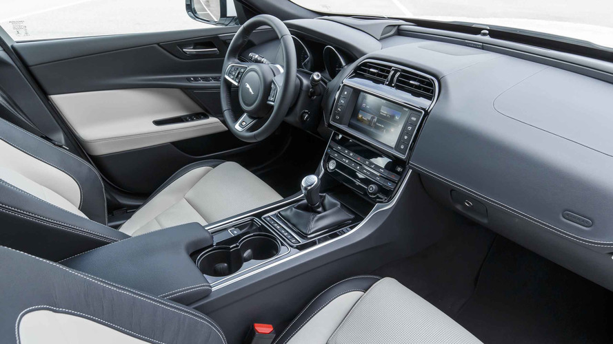 This Is Where The XE Starts To Fall Down. Jaguar Tried To Take The  Understated, Simple Interior Of The 2008 XF (arguably The First Truly  Modern Jaguar In ...