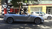 Tesla Model S four-door convertible