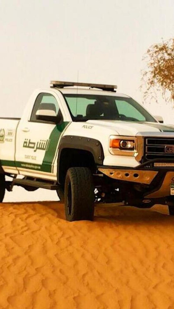 2015 GMC Sierra for Dubai police