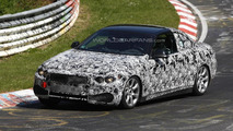 BMW 4-series cabriolet prototype on Nurburgring