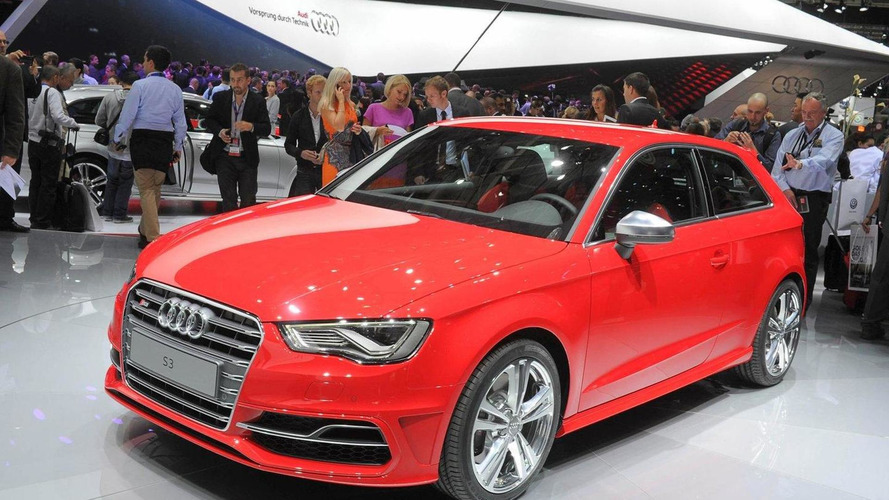 2013 Audi S3 roars into Paris