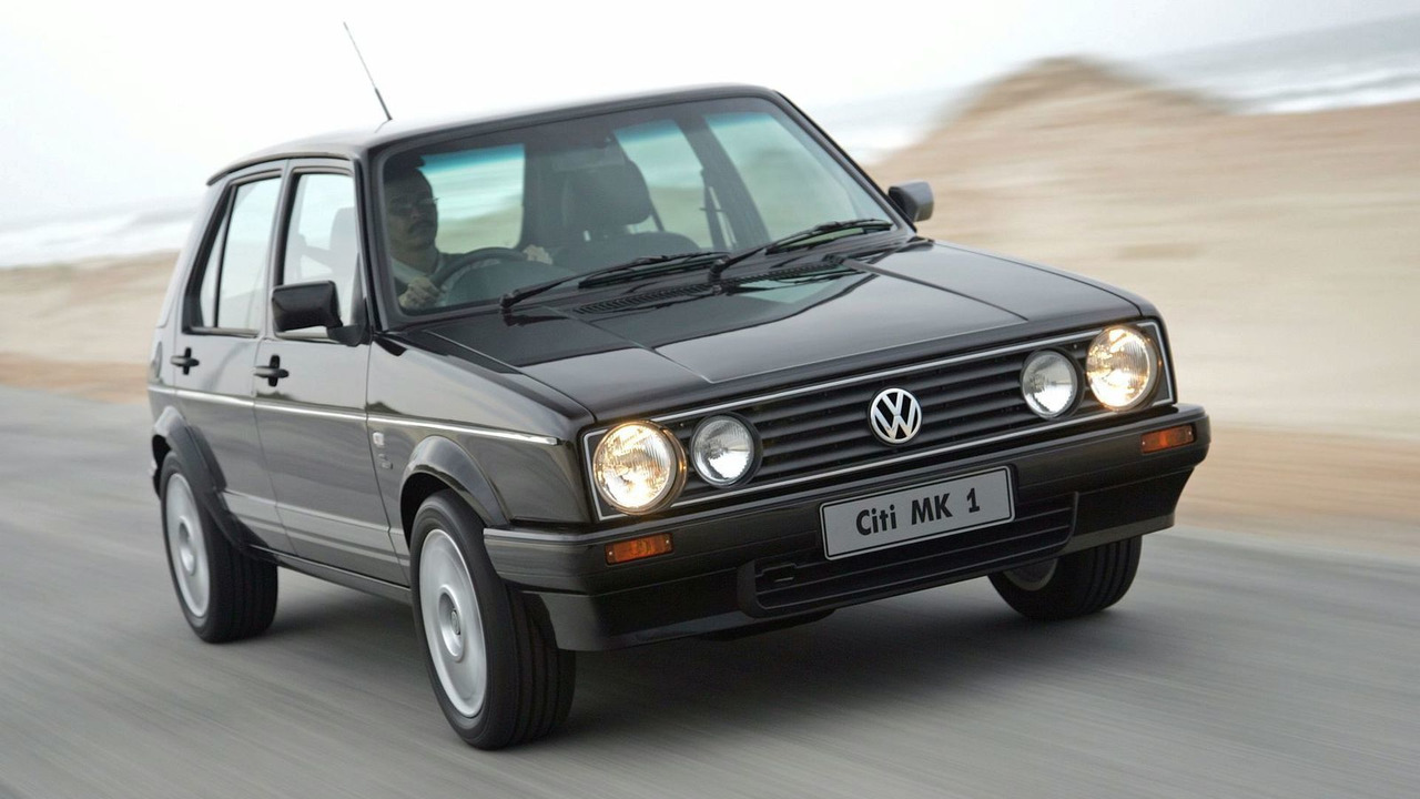 Sign And Drive Lease Deals >> VW Ends Golf I Production in South Africa with Citi Golf Mk1 Limited Edition