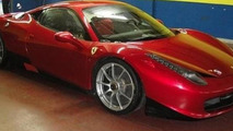 Ferrari 458 Italia Challenge spy photo, 650, 25.05.2010
