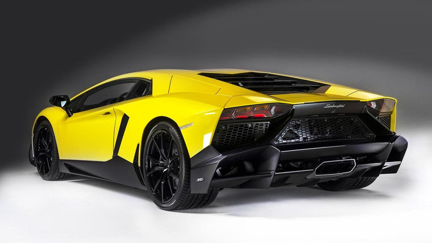 Lamborghini Aventador LP 720-4 50 Anniversario officially revealed