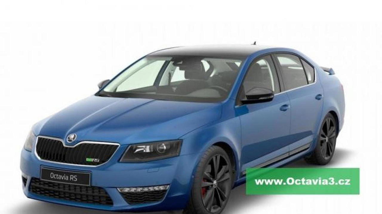 2013 Skoda Octavia RS leaked photo 13.2.2013