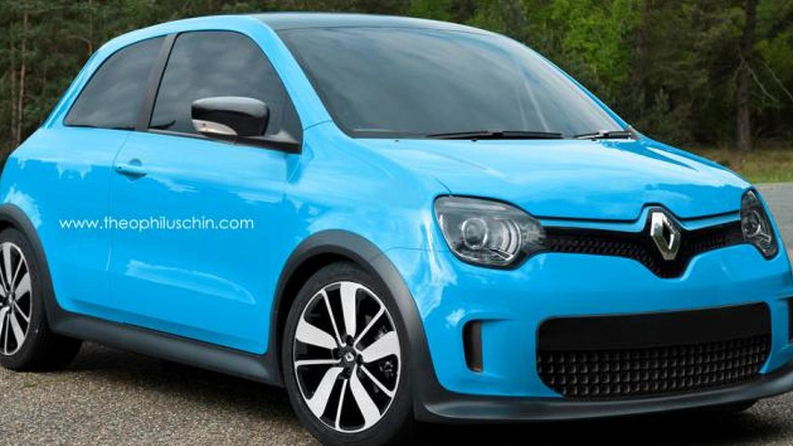 2014 renault twingo rendered photos. Black Bedroom Furniture Sets. Home Design Ideas