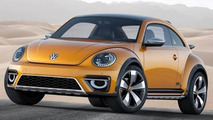 2014 Volkswagen Beetle Dune Concept first official images emerge