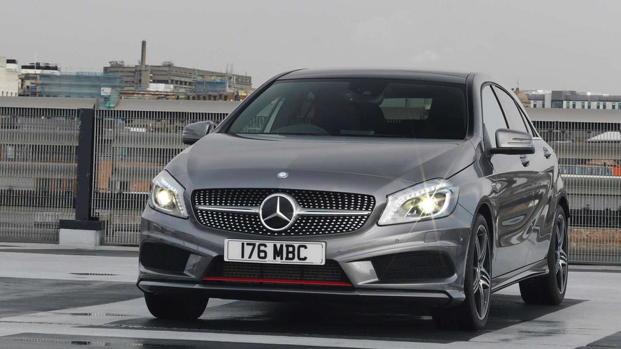 Mercedes-Benz A- and B-Class to be offered with 4MATIC