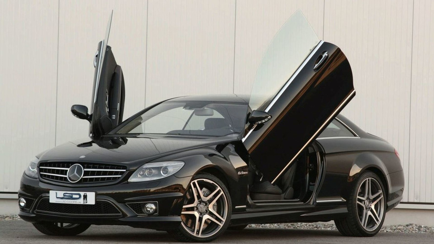 Mercedes CL with LSD Wing Doors