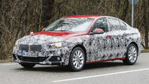 BMW 1 Series Sedan spy photo