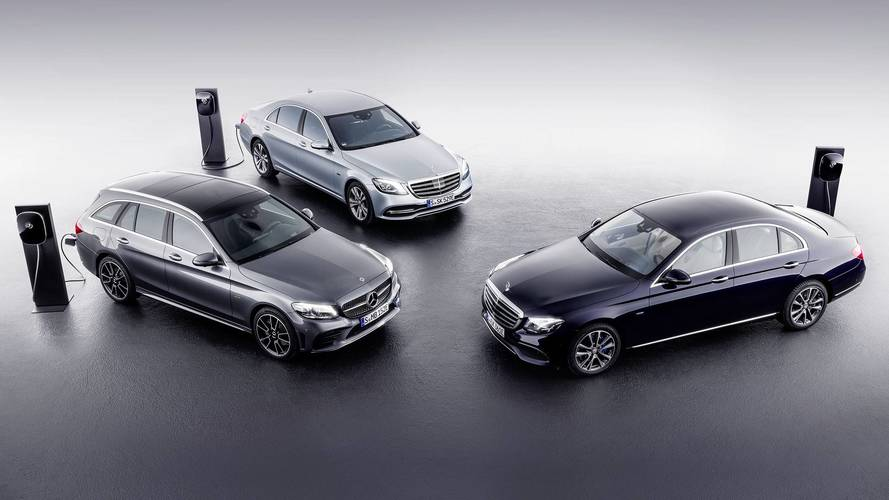 Mercedes C-Class, E-Class Diesel Plug-In Hybrids Coming To Geneva