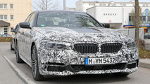 2017 BMW 5 Series with M Sport package spy photos