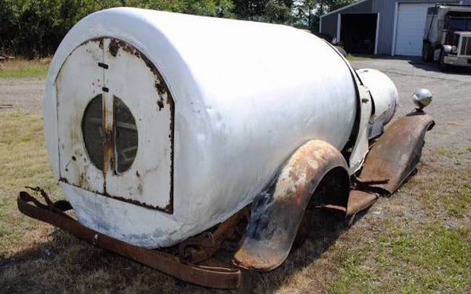Got Cash? Barn Find REO Milk Wagon Needs a Good Restoration