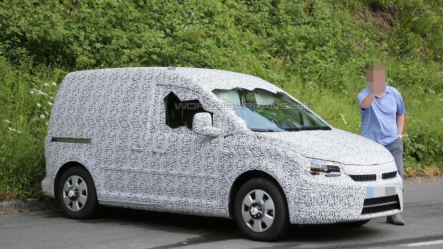 2016 Skoda Roomster spied wearing a production body