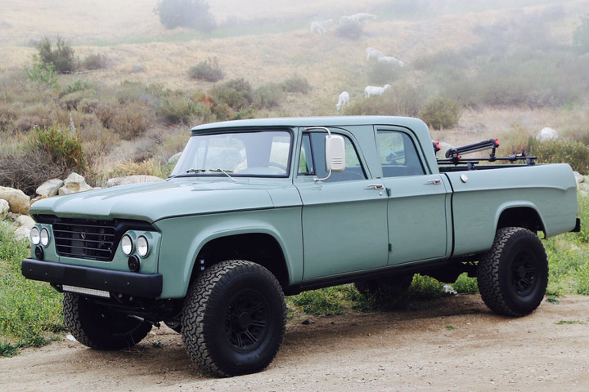 & ICON Brings New Life to The u002764 Dodge Power Wagon