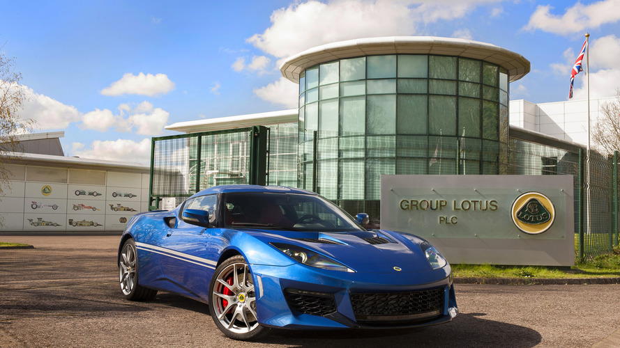 Lotus celebrates 50 years of Hethel factory with special Evora 400