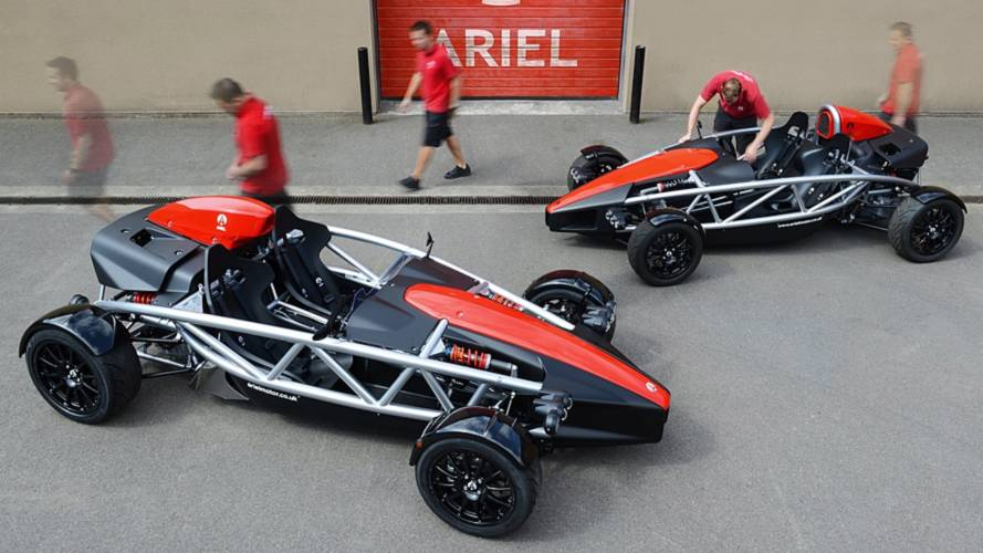 Ariel Atom 4, a Goodwood con 320 CV