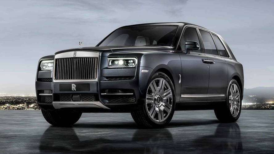 Rolls-Royce Debuts Cullinan SUV With $325K Starting Price, 563 HP