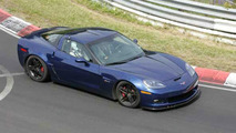 Corvette Z06 Blue Devil Spy Photos