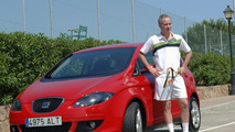 Seat Altea teams up with John McEnroe