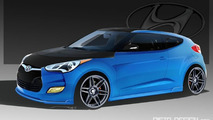 PM Lifestyle Hyundai Veloster ahead of SEMA 07.10.2011