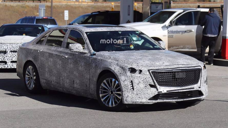 2019 Cadillac Ct6 Prototype Shows Off Escala Inspired