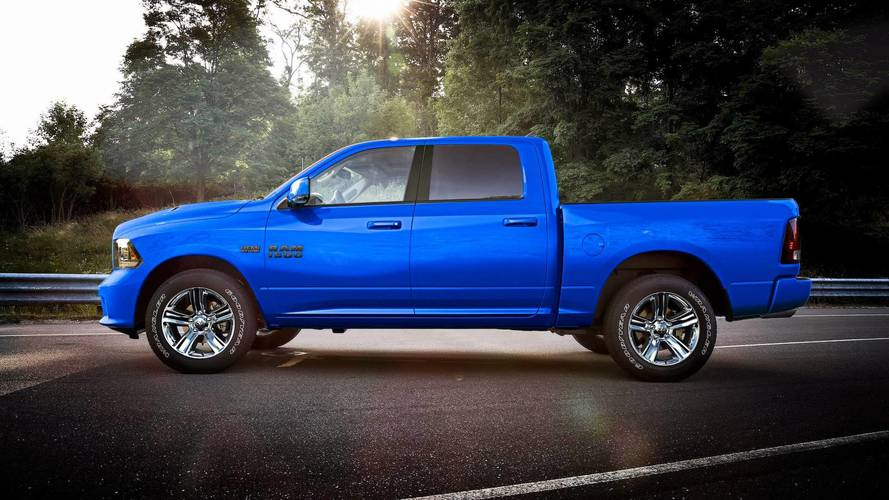 2018 Dodge Ram Hydro Blue >> New Ram 1500 Sport Special Edition Won't Leave You Feeling Blue