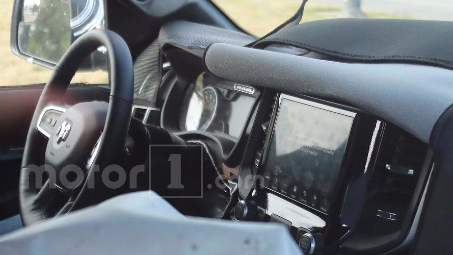 2019 Ram 1500 interior spy photo