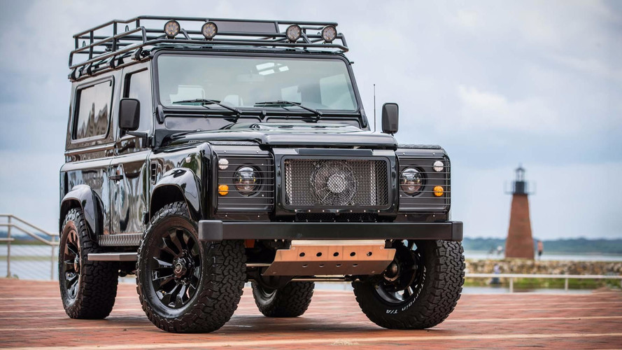 East Coast Defender Is Back In Black With Project Blackout
