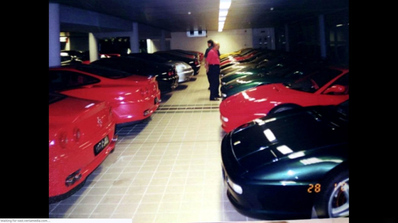 Sultan Of Brunei Secret Car Collection