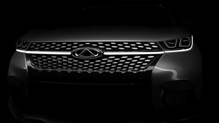 Chinese Brand Chery To Reveal SUV at Frankfurt