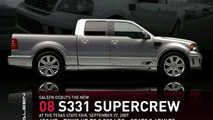Saleen's S331 can tow four 2008 Fiat 500s and a trailer