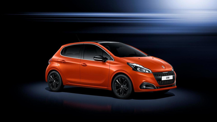 Facelifted Peugeot 208 shows up in Geneva