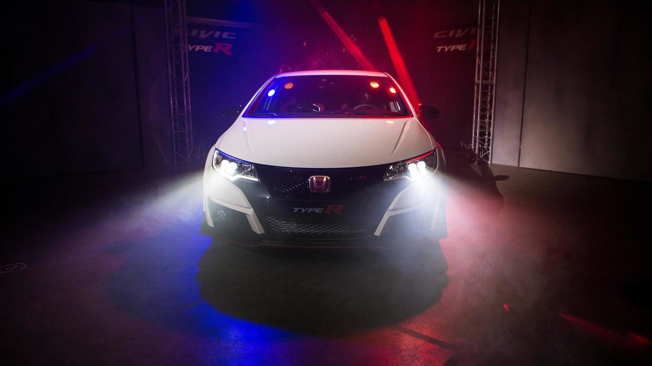 Honda Civic Type R at 2015 Geneva Motor Show