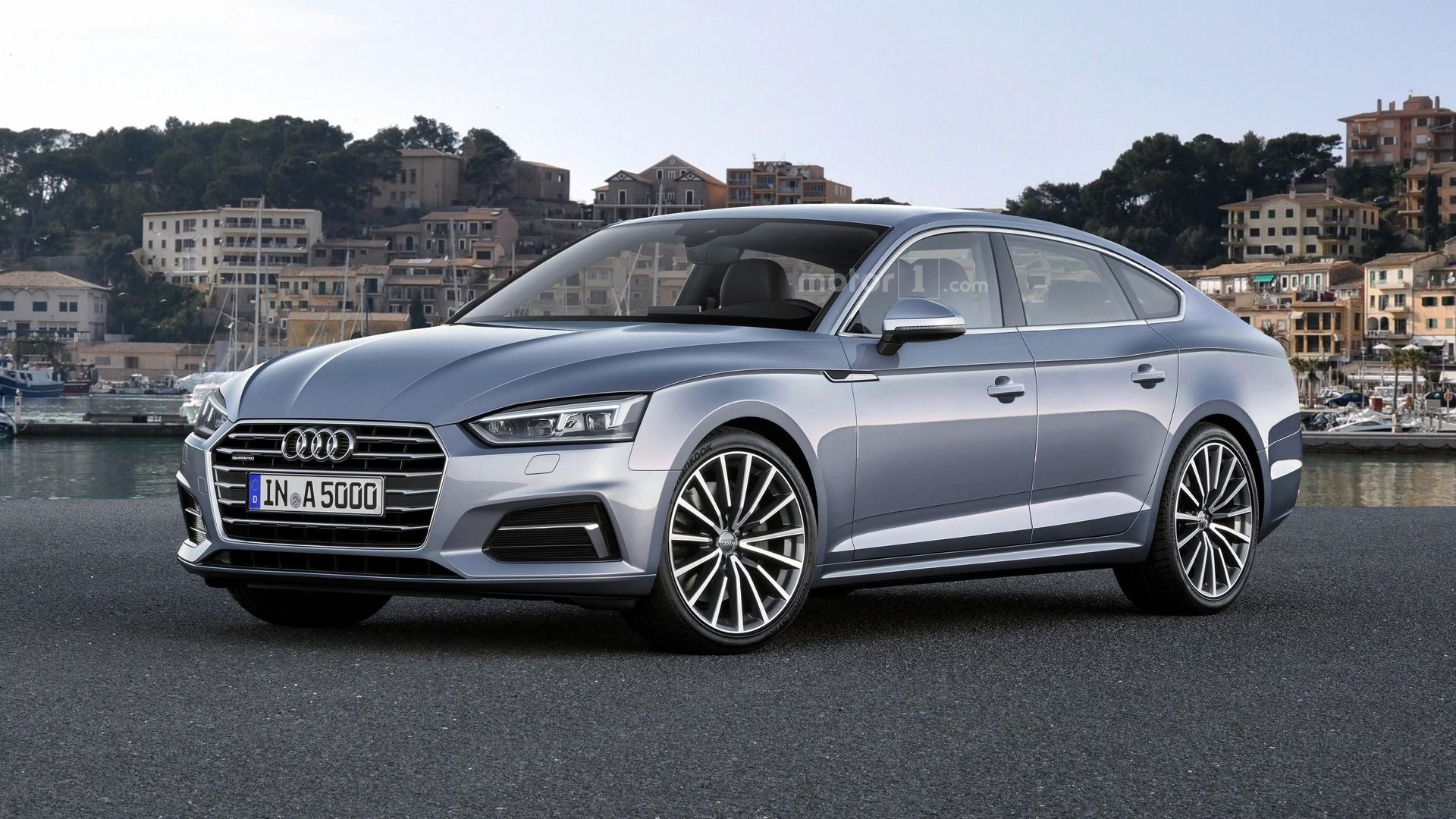 2018 audi a5 sportback render previews plausible future. Black Bedroom Furniture Sets. Home Design Ideas