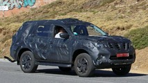 Nissan Navara SUV spy photo