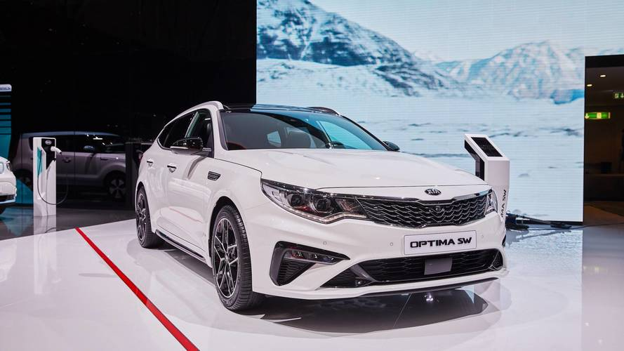 Euro-Spec Kia Optima Live From Geneva Motor Show