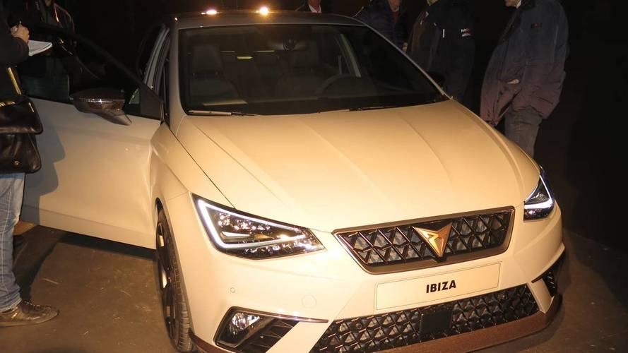 Cupra Ibiza Concept Makes Early Debut Ahead Of Thursday Premiere