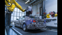 BMW Serie 5 in fase di collaudo