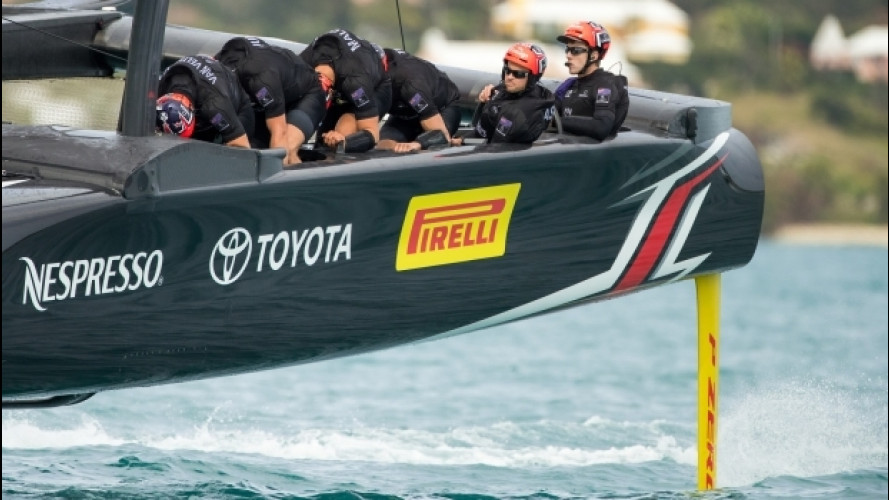 America's Cup 2017, c'è anche Pirelli con il team Emirates New Zealand