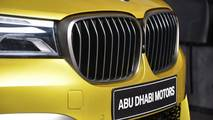 BMW M760Li Austin Yellow